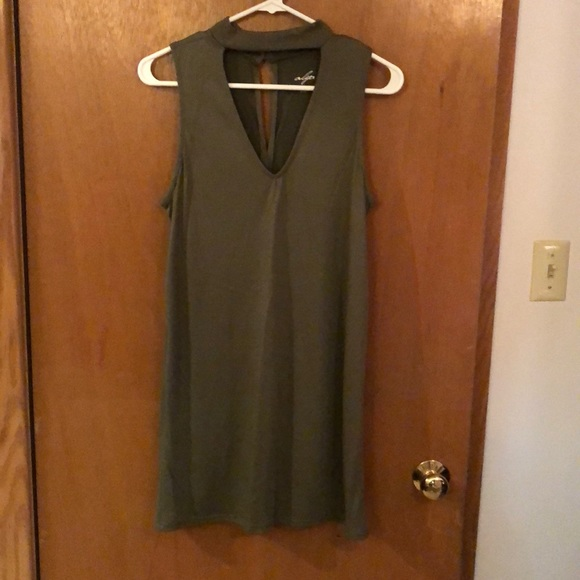 Francesca's Collections Dresses & Skirts - Army green dress